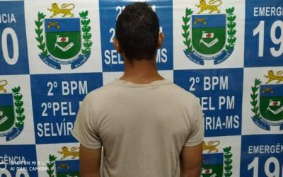 Polícia Militar cumpre mandado de prisão em Selvíria