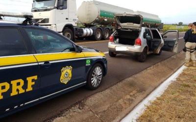 PRF intercepta em Bataguassu maconha que seguia para São Paulo (SP)