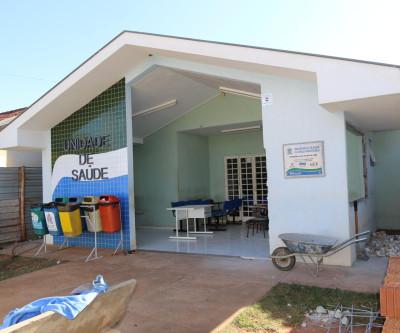 Unidade de Saúde do Bairro Paranapungá recebe reforma e ampliação