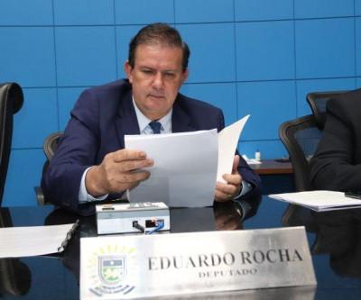 Deputado estadual Eduardo Rocha solicita patrolamento e cascalhamento da MS-312