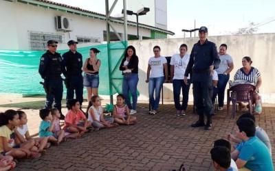 """Crianças de Brasilândia recebem orientações sobre """"Educação no Trânsito"""""""