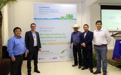 Executivo tem  projeto para transformação de plantas aquáticas em biocombustível em Três Lagoas