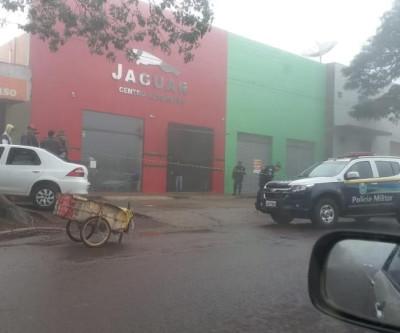 Homem é morto a tiros dentro de estabelecimento comercial em Ponta Porã
