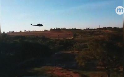 VÍDEO: Guerra ao narcotráfico usa até helicópteros nas buscas por 'Barão Escurra'