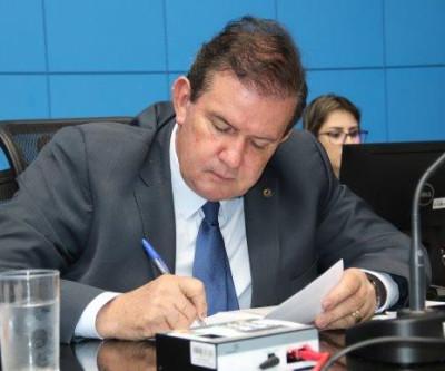 Deputado estadual Eduardo Rocha solicita recapeamento asfáltico na MS-223