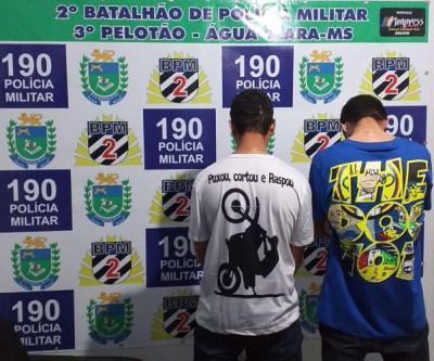 Operação da Polícia Militar de Água Clara foca  lei seca e notifica 12 condutores