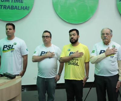 PSL em Campanha Nacional de Filiação parlamentares pedem união, transparência e cooperação