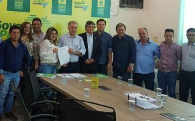 BRASILÂNDIA: Com Eduardo Rocha, Governador garante que irá beneficiar saneamento básico