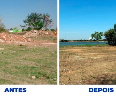 Meio Ambiente dá início ao projeto de revitalização da Segunda Lagoa
