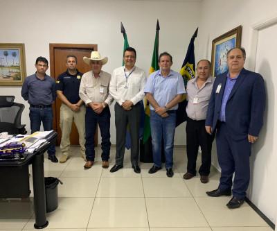 Prefeito se reúne com superintendente da PRF para tratar sobre permuta de prédio da Lagoa Maior