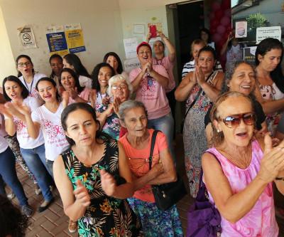 OUTUBRO ROSA: nove Unidades de Saúde de Três Lagoas deram atenção especial à saúde da mulher