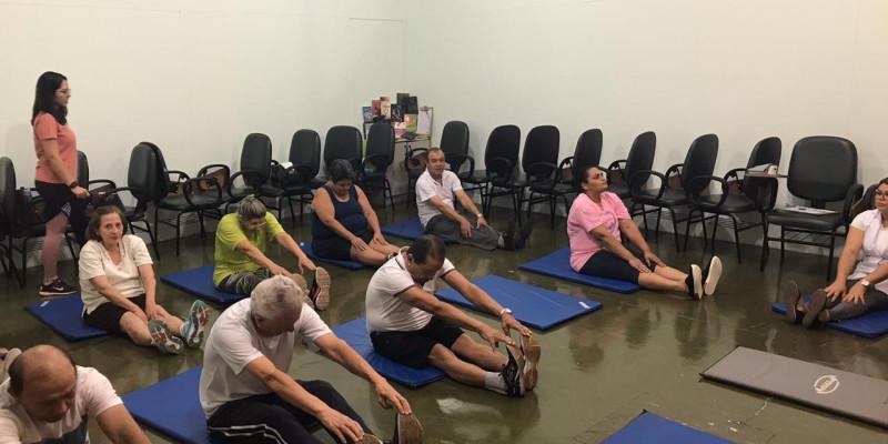 ANDRADINA:Programa Gerenciamento de Crônicos realiza aula de Pilates