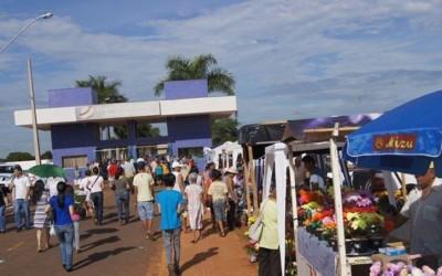 Inscrições para comercialização de produtos no entorno do Cemitério Municipal no Dia de Finados começam dia 14