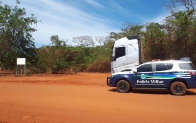 Polícia Militar recupera veículo roubado em Selvíria