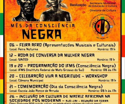 Mês da Consciência Negra é marcado por diversas apresentações
