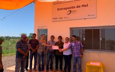 Entreposto de Mel em Brasilândia (MS) conquista certificação e amplia a comercialização