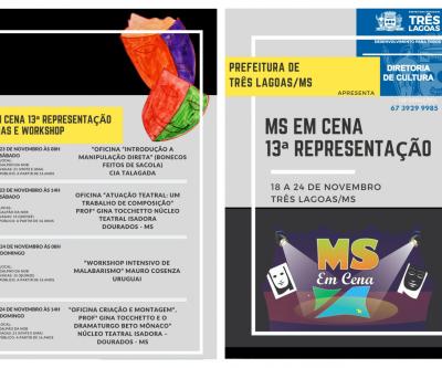 MS EM CENA acontece em novembro e terá apresentação internacional