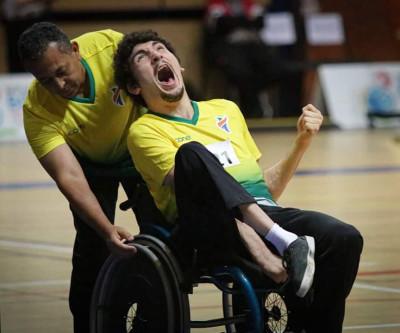 Paratleta André Luiz conquista medalha de bronze no Open Mundial de Bocha em Portugal