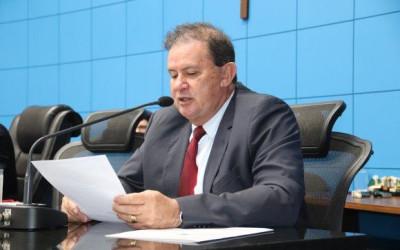 1º vice-presidente da ALMS, Eduardo Rocha, solicita melhorias na sinalização do trevo de Jateí