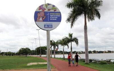 Lagoa Maior conta agora com placas informativas ilustradas e novos bancos