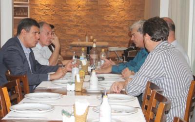 Unimed Três Lagoas oferece jantar aos empresários de Chapadão do Sul