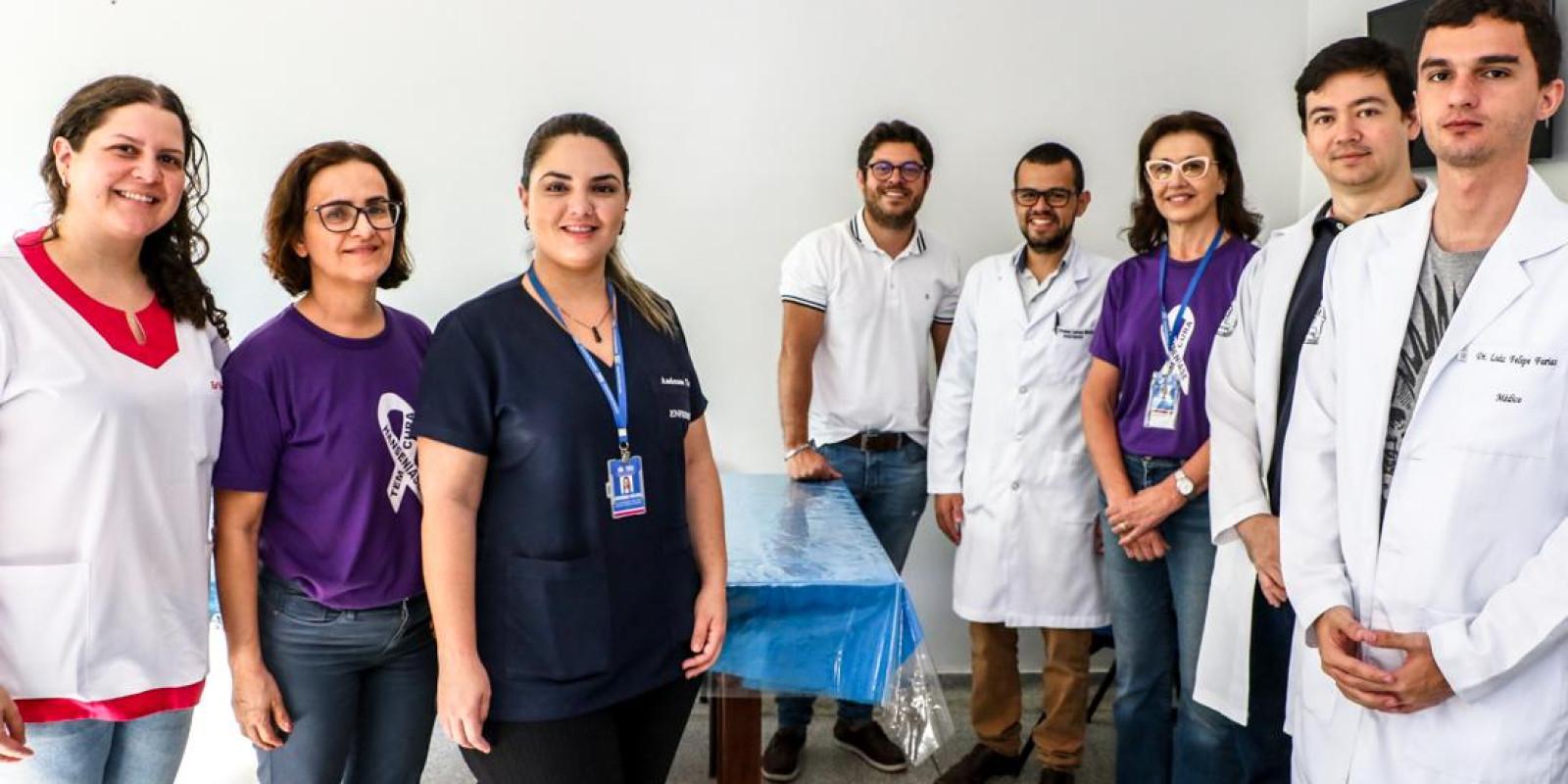 JANEIRO ROXO-Equipe da ESF Vila Haro forma grupo de atenção especial de atendimento a pacientes com Hanseníase