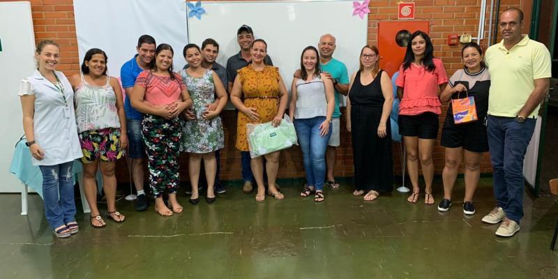 ANDRADINA:Programa Amor Pleno realiza palestra sobre Nutrição no Período Gestacional