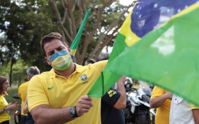 Capitão Contar e milhares de campo-grandenses vão às ruas em manifestações Pró-Brasil e Pró-Bolsonaro