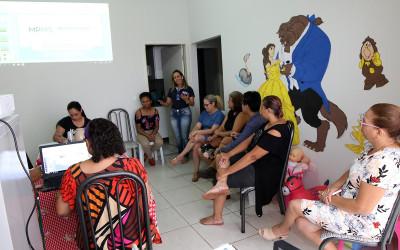 FAMILIA ACOLHEDORA – Famílias participam de capacitação para habilitação do serviço de acolhimento