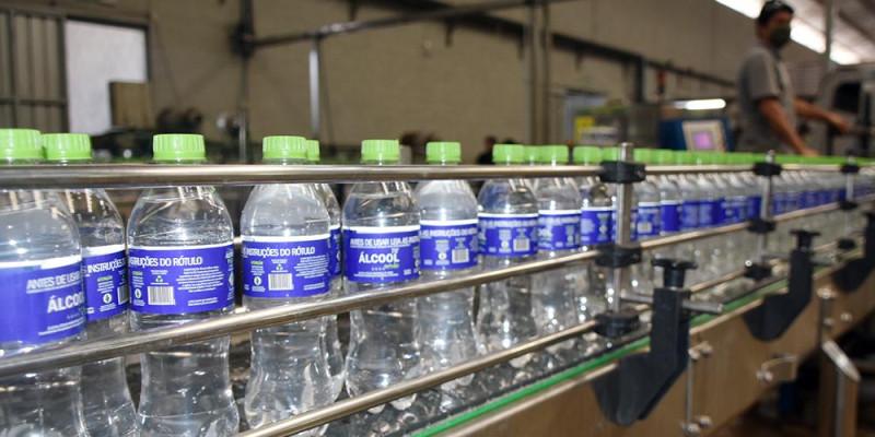 Justiça autoriza cervejaria Bamboa a produzir álcool 70°GL para ser comercializado