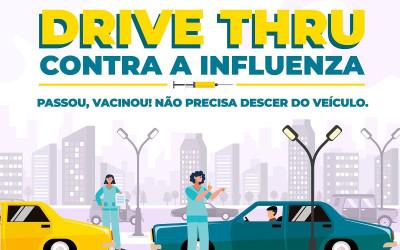 """Ministério da Saúde envia novos lotes e vacinação contra Influenza será retomada nesta quinta-feira (2) em formato """"drive thru"""""""