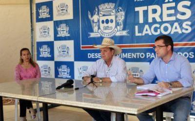Prefeito de Três Lagoas prorroga prazo de pagamento das taxas de fiscalização