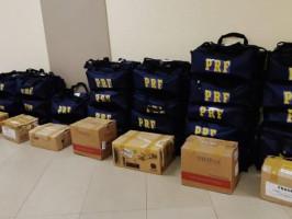 PRF distribui em MS Equipamentos de Proteção Individual para utilização em crise