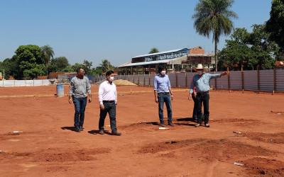 Prefeitura de Três Lagoas inicia obra de construção da Feira Livre