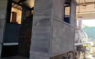 Restauração da Maria Fumaça continua e resgatará memória importante de Três Lagoas