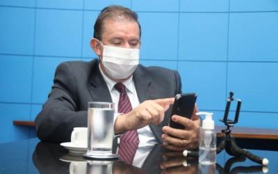Deputado Eduardo Rocha solicita operação tapa-buracos na MS-320, em Inocência