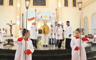 Solenidade de Corpus Christi terá missas e bênção do Santíssimo Sacramento pelos bairros de Três Lagoas (MS)