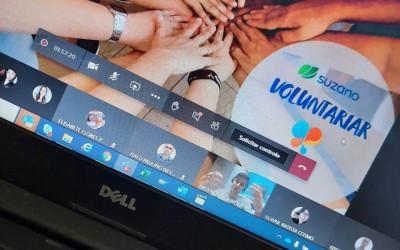 Suzano incentiva ações virtuais de voluntariado durante a pandemia