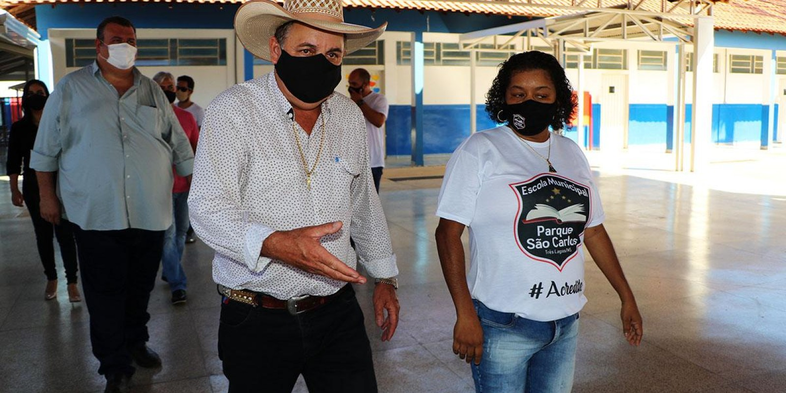 Angelo Guerreiro e secretários se reúnem com vereadores de Três Lagoas para apresentar reforma de escolas e protocolo de segurança da volta às aulas