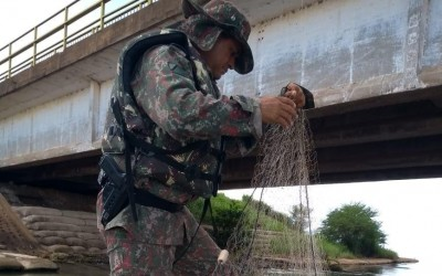 PMA de Bataguassu fiscaliza 13 embarcações e 31 pescadores