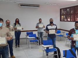 Senai de Três Lagoas qualifica funcionários de empresas parceiras com curso de NRs