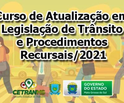 Três Lagoas sedia curso do Conselho Estadual de Trânsito, com participação de sete município