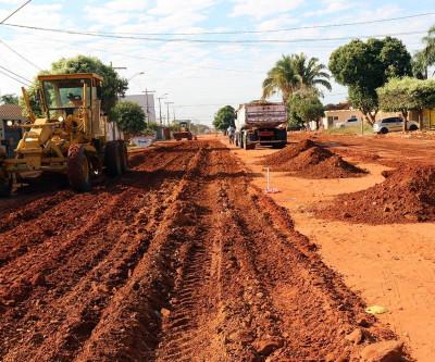Prefeitura finaliza drenagem no Jardim Novo Aeroporto