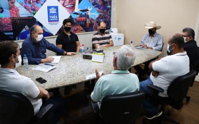 Renovação do prazo de Concessão da Zona Azul é pauta de reunião com prefeito de Três Lagoas