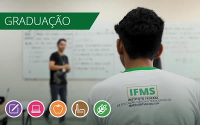 Matrículas em cursos de graduação do IFMS devem ser feitas até sexta-feira