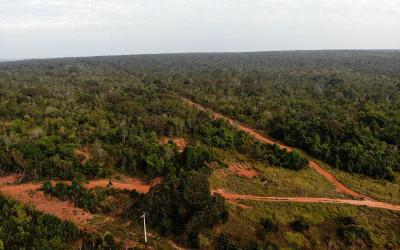 Estrada de acesso ao Parque do Pombo passa por manutenção