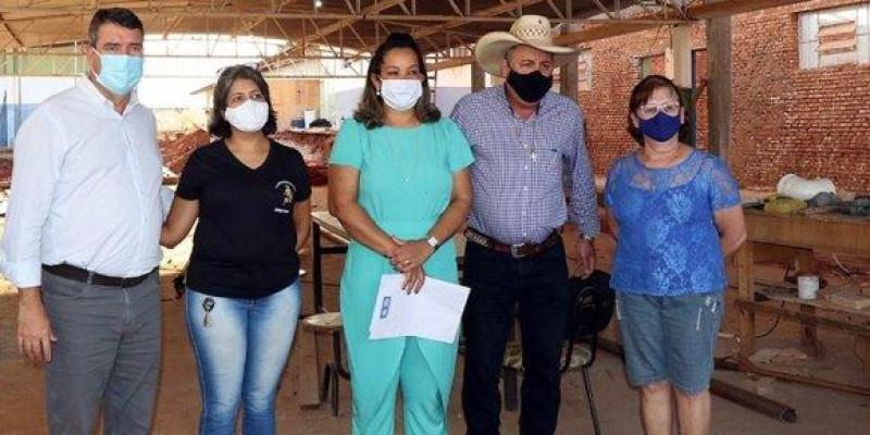 Assessora de Eduardo Rocha acompanha visita de secretário de Estado de Infraestrutura em Três Lagoas