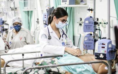Taxa de ocupação de leitos de UTI para pacientes com covid cai para 60% em MS