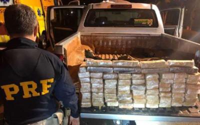 Motorista é preso após sair de Campo Grande com cocaína avaliada em R$ 9 milhões