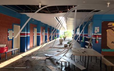 """AVISO – Forte Chuva suspende aulas da Escola Municipal de Educação no Campo """"Antônio Camargo Garcia"""" nesta segunda-feira (18)"""